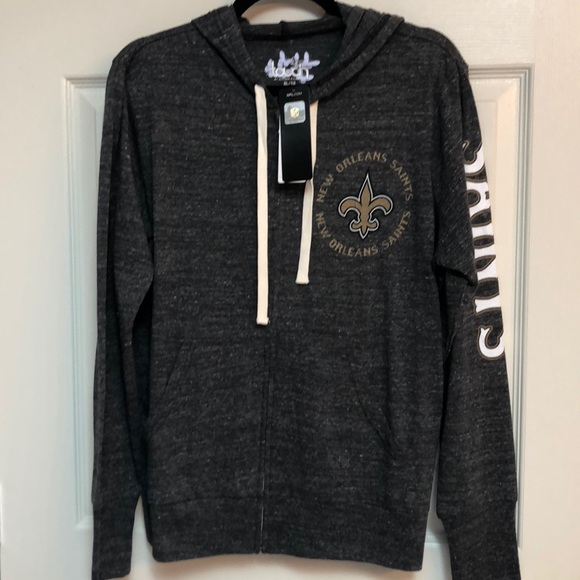 124e8aa5 New Orleans Saints ⚜️ hoodie NFL by Alyssa Milano NWT
